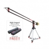 CAMTREE Flylite - 10 Camera Crane With Jib Stand Supporting Cameras weighing upto 25kg/55.12lbs (C-FLLT-10-JS)