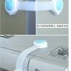 ตัวล็อกตู้เย็น/ไมโครโวฟ**สีฟ้า**