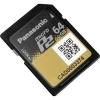 Panasonic AJ-P2M064AG64GB microP2 UHS-II Memory Card พานาโซนิค เม็มโมรีการ์ดไมโคร พี2 64จีบี