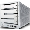 CalDigit T4 RAID Max Capacity: 12TB | Max Speed: 1375MB/s | Drive Module: SSD or HDD Interface: Dual Thunderbolt™ 2 Ports