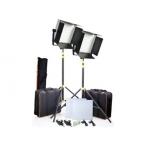 CAMTREE 2pcs. 1000 White LED Lights Kit (C-1000-W-2)
