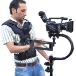 C-FLYCAM Camera Stabilizer with Comfort Arm and Vest Supporting Cameras weighing upto 3kg/6.6lbs