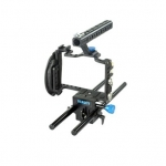 Filmcity Lightweight Cage with Rod Support for Panasonic Lumix GH3 / GH4 (FC-G34-LCRS)