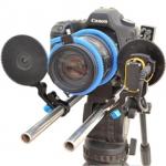 PROAIM E-Focus DSLR (EF-DSLR) Pro Zoom Follow Focus Control & Battery