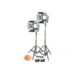 CAMTREE 2pc. SUN 6 LED Fresnel Lights (C-SUN6-2)