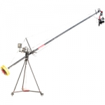 AMTREE Ultimate Film Making Kit (Camtree Flylite 18Ft Jib Crane With Stand, Jr. Pan Tilt Head, D-27 Camera Dolly) (C-FLLT-ULT)