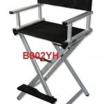 aluminum makeup chair ,Director chair เก้าอี้แต่งหน้า,เก้าอี้ผู้กำกับ,ทำมาจากอลูมิเนียม สีเงิน