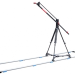 PROAIM Preciso-5 5Ft Jib With Tripod Stand, Dolly And Track (PRSO-5-TS-DT)
