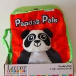 ของเล่นเด็กอ่อน นิทานผ้าแพนด้า Lamaze