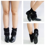 ((ขายแล้วค่า))k-7656 รองเท้าบูท หนังสีดำไซส์38
