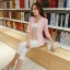 เสื้อสูททำงานผู้หญิงสวยๆ สีชมพูโอรส ผ้าลูกไม้ผสมเลื่อมทอง ทรงเข้ารูป แขนยาว แต่งกระเป๋าหลอก ขนาดไซส์ M thumbnail 3