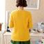 เสื้อกันหนาวแฟชั่นเกาหลี สีเหลือง คอกลม แขนยาว ลายนกฮูก ผ้าไหมพรมมีขน เนื้อผ้านุ่มใส่สบาย thumbnail 6