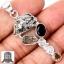 ▽จี้เงินแท้ 925 - Meteorite Campo Del Cielo & Herkimer Diamond thumbnail 1