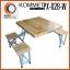 โต๊ะปิกนิกพับได้ KOMMET รุ่น PX-028-W (ไม้) thumbnail 8