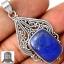 ▽จี้เงินแท้ 925 - ลาพิส ลาซูลี่ (Lapis Lazuli) thumbnail 1