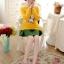เสื้อกันหนาวแฟชั่นเกาหลี สีเหลือง คอกลม แขนยาว ลายนกฮูก ผ้าไหมพรมมีขน เนื้อผ้านุ่มใส่สบาย thumbnail 8