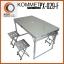 โต๊ะปิกนิกพับได้ KOMMET รุ่น PX-029-F พร้อมเก้าอี้ 4 ที่นั่ง thumbnail 3