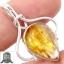 ▽จี้เงินแท้ 925 - ไหมทอง Golden Rutile thumbnail 1