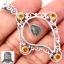 ▽จี้เงินแท้ 925 - Gibeon Meteorite & Citrine thumbnail 1