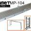 MP-104:บันไดอลูมิเนียม พับได้ 4 ท่อน ยาว 4.7 เมตร พร้อมแผ่น Iron-Plate thumbnail 11