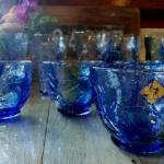 ชุดแก้ว สายน้ำและดอกไม้ Seiryuka