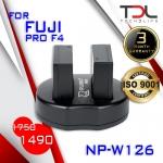 PRO F4 แบตเทียบและแท่นชาร์จ Fuji NP-W126 X-PRO1 X-PRO2 XA1, XA2 XA3 XT10