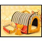<สอบถามราคา> บ้านน้องหมาแมว ที่นอนน้องหมาแมว เบาะนอนน้องหมาแมว นำเข้าจากญี่ปุ่น สีน้ำตาลลายทาง