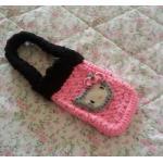 <พร้อมส่ง> กระเป๋าใส่มือถือ ไอโฟน สมาร์ทโฟน แฮนด์เมดคิตตี้ Hello Kitty แบบ8