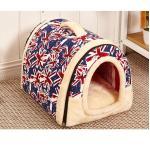 <สอบถามราคา> บ้านน้องหมาแมว ที่นอนน้องหมาแมว เบาะนอนน้องหมาแมว นำเข้าจากญี่ปุ่น ลายธงชาติอังกฤษ