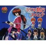 <สอบถามราคา> ชุดโมเดลพวงกุญแจ Rurouni Kenshin ซามูไรพเนจร แบบ1