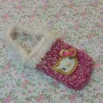 <พร้อมส่ง> กระเป๋าใส่มือถือ ไอโฟน สมาร์ทโฟน แฮนด์เมดคิตตี้ Hello Kitty แบบ3