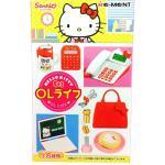 <สอบถามราคา> ชุดโมเดล ของเล่นจิ๋ว Re-ment เฮลโลคิตตี้ Hello Kitty ชุดชีวิตพนักงานออฟฟิศ