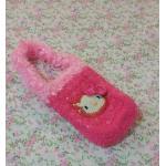 <พร้อมส่ง> กระเป๋าใส่มือถือ ไอโฟน สมาร์ทโฟน แฮนด์เมดคิตตี้ Hello Kitty แบบ5