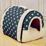 <สอบถามราคา> บ้านน้องหมาแมว ที่นอนน้องหมาแมว เบาะนอนน้องหมาแมว นำเข้าจากญี่ปุ่น ลายดาว