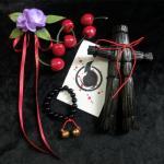 <สอบถามราคา> ชุดอุปกรณ์คอสเพลย์ ตุ๊กตาฟาง กำไลข้อมือ เชอร์รี่ สัญญามรณะ ธิดาอเวจี Jigoku Shoujo