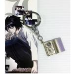 <พร้อมส่ง> พวงกุญแจ สมุดเดธโน้ต Death Note