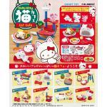 <สอบถามราคา> ชุดโมเดล ของเล่นจิ๋ว Re-ment เฮลโลคิตตี้ Hello Kitty ชุดคาเฟ่แมว