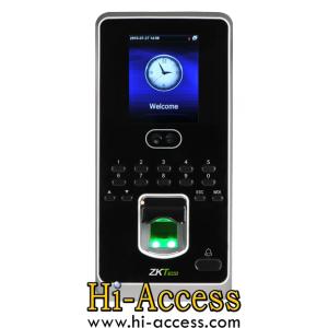 เครื่องสแกนใบหน้า ยี่ห้อ ZK Teco รุ่น Multibio800-H (ระบบ Access Control)