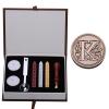 AK Letter Alphabet Wax Badge Seal Stamp w/Wax Kit Set Letter A-ZOptional (Intl)