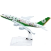 โมเดลเครื่องบิน EVA AIR Kitty Green AIRBUS A380