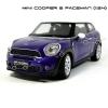 WELLY โมเดลรถ MINI COOPER S PACEMAN สีน้ำเงิน (Scale 1:24)