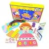 Todds & Kids Toys ของเล่นเสริมพัฒนาการ ตัดชุดตุ๊กตาไม้ (LittleDesigner)(Multicolor)