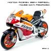 Maisto โมเดล บิ๊กไบค์ MotoGP HONDA RC213V 2014 Repsol No.26 DANIPEDROSA (Scale 1:10)