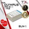 PRO B1-1 แบตเทียบ Olympus BLN-1 BLN1 OM-D Series E-M1 E-M5 E-P5 EM5 EP5 EM5II PEN F