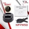 Pro S2 แท่นชาร์จ Sony NP-FW50 ตระกูล A7 ตระกูล NEX A5100 A6000 A6300 A6500