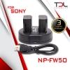 Pro S4 แท่นชาร์จแบต Sony NP-FW50 + แบตเทียบ Battery Pack Sony NP-FW50 2 ก้อน
