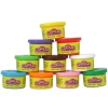 ProudNada Toys แป้งโดว์ 10 สี Colour Dough Party Pack 10 Mini CansNO.6610