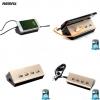 อะแดปเตอร์ remax USB HUB 4 Port RU-U2 สีทอง