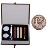 AL Letter Alphabet Wax Badge Seal Stamp w/Wax Kit Set Letter A-ZOptional (Intl)