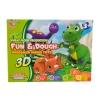 ProudNada Toys ของเล่นเด็กแป้งโดว์ Fun & Dough Dinosaur seriesToys WALEDI NO.4038B